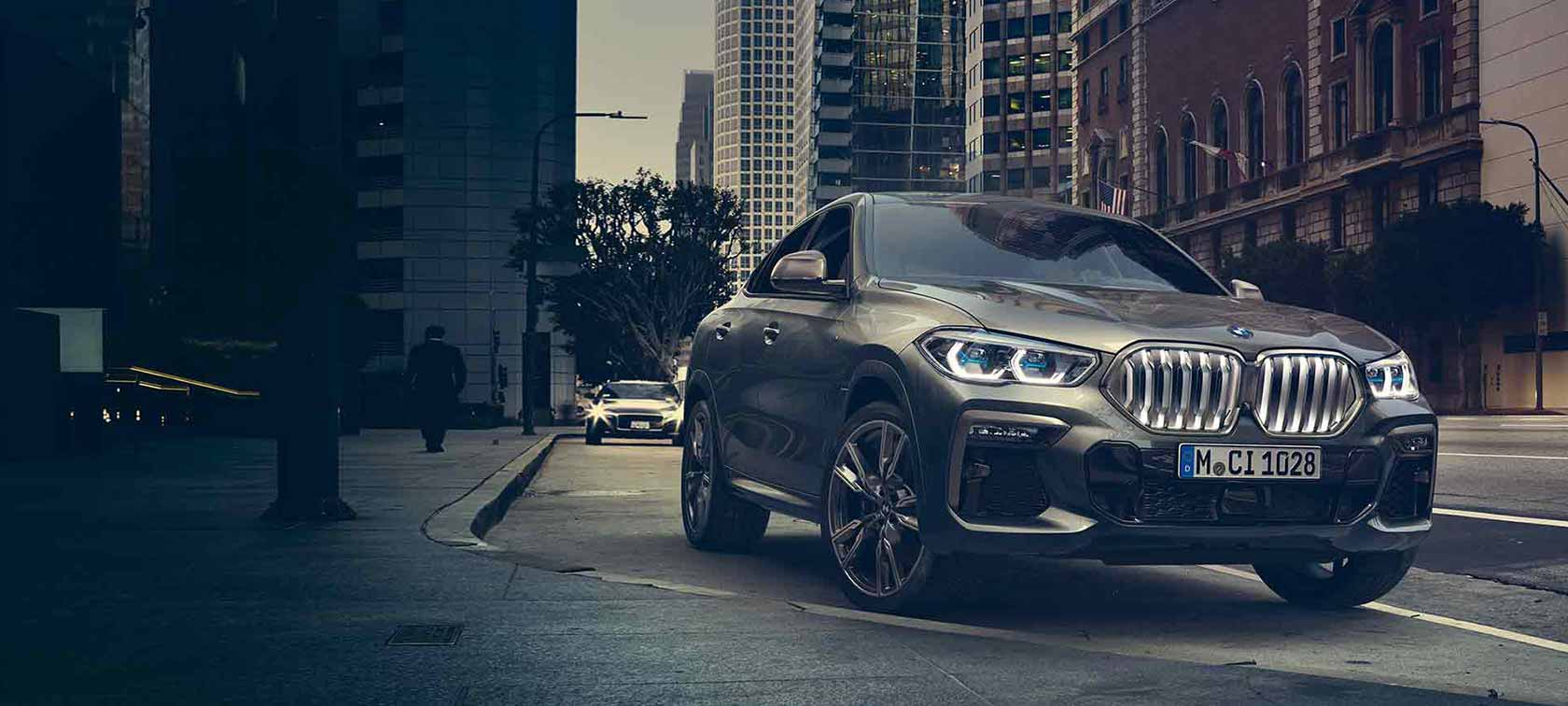 THE ALL-NEW BMW X6